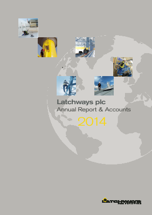 Latchways annual report 2014