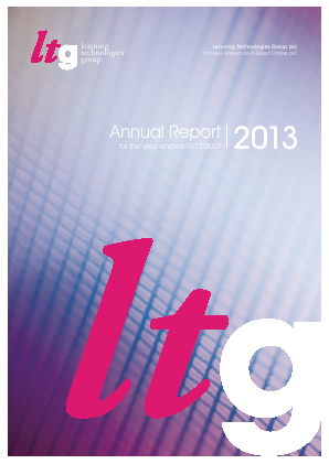 Learning Technologies Group Plc annual report 2013