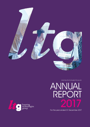 Learning Technologies Group Plc annual report 2017