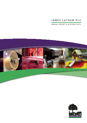 Latham(James) annual report 2014