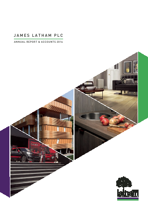 Latham(James) annual report 2016