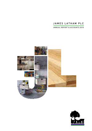 Latham(James) annual report 2018