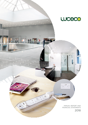 Luceco annual report 2018