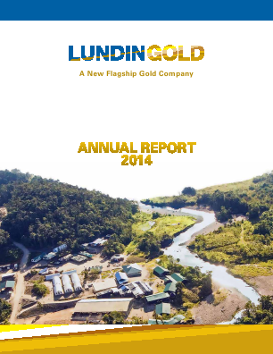 Lundin Gold annual report 2014