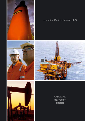 Lundin Petroleum annual report 2003