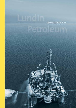 Lundin Petroleum annual report 2006
