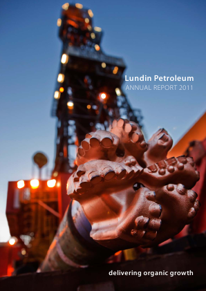 Lundin Petroleum annual report 2011