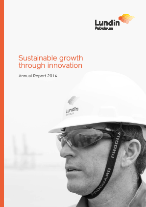 Lundin Petroleum annual report 2014