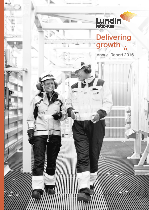 Lundin Petroleum annual report 2016