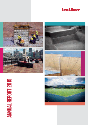 Low & Bonar Plc annual report 2015