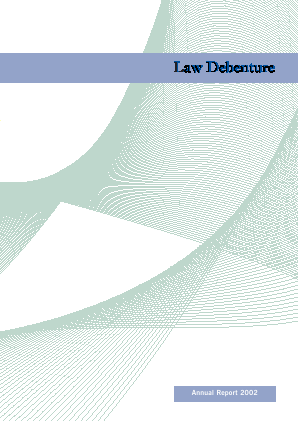 Law Debenture Corp annual report 2002
