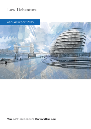 Law Debenture Corp annual report 2015
