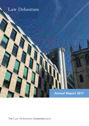 Law Debenture Corp annual report 2017