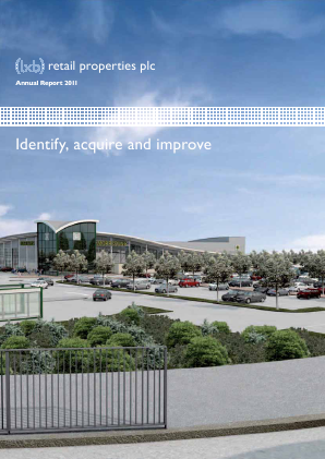 LXB Retail Properties Plc annual report 2011