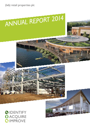 LXB Retail Properties Plc annual report 2014