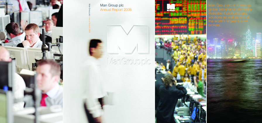 Man Group Plc annual report 2006