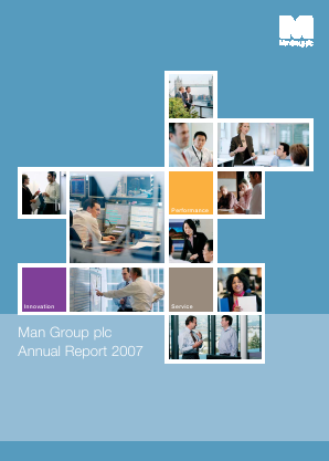 Man Group Plc annual report 2007
