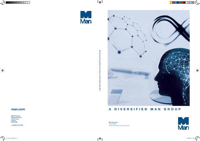 Man Group Plc annual report 2015
