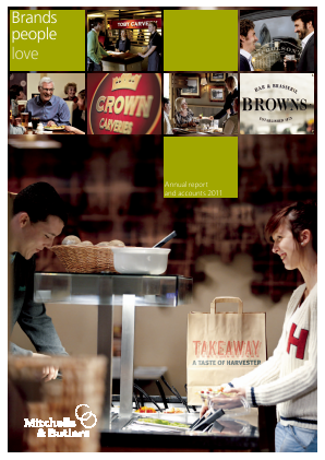 Mitchells & Butlers annual report 2011