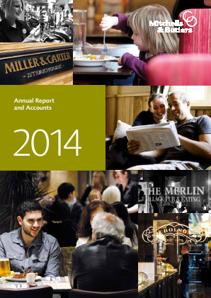 Mitchells & Butlers annual report 2014