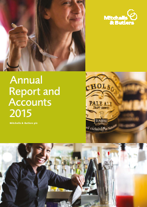 Mitchells & Butlers annual report 2015