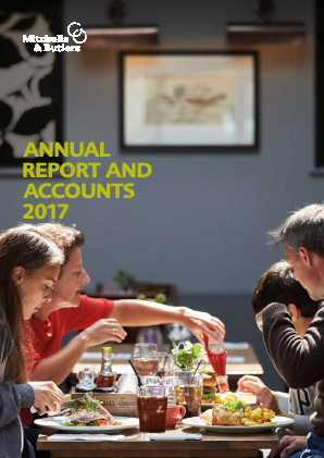 Mitchells & Butlers annual report 2017
