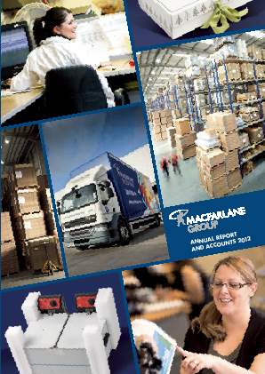 Macfarlane Group annual report 2012