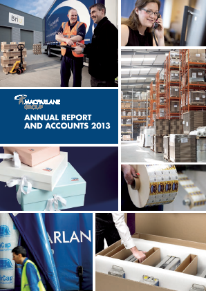 Macfarlane Group annual report 2013