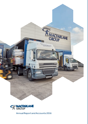 Macfarlane Group annual report 2016
