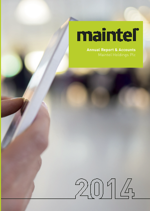 Maintel Holdings annual report 2014