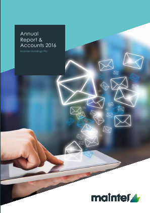 Maintel Holdings annual report 2016