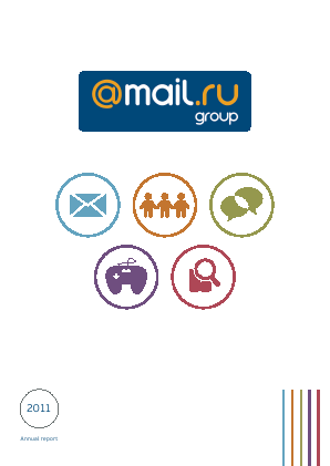 Mail.Ru Group annual report 2011