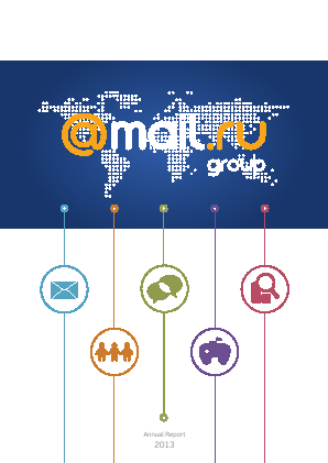 Mail.Ru Group annual report 2013