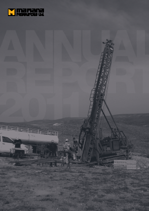 Mariana Resources annual report 2011