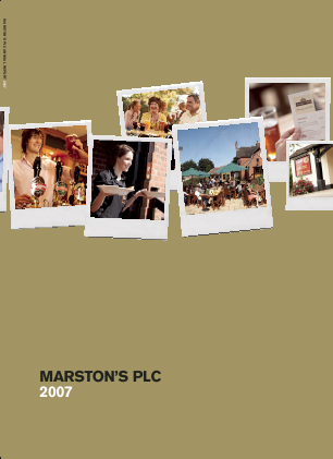 Marstons Plc annual report 2007