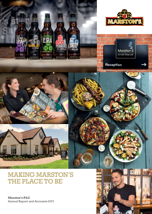 Marstons Plc annual report 2017