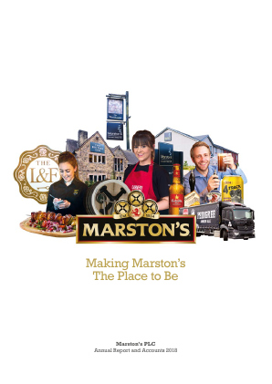 Marstons Plc annual report 2018