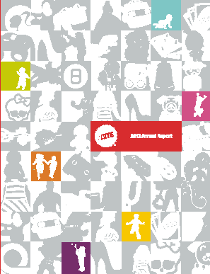 Mattel, Inc. annual report 2012