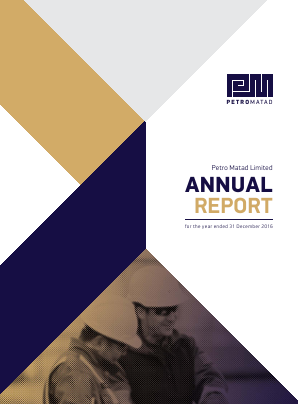 Petro Matad Ltd annual report 2016