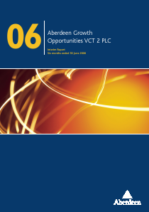 Maven Income & Growth VCT 4 Plc annual report 2006
