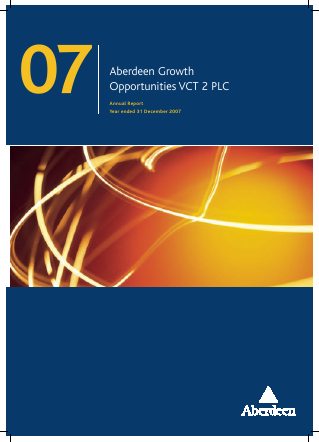 Maven Income & Growth VCT 4 Plc annual report 2007