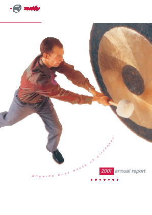 Magyar Telekom Telecommunications annual report 2001