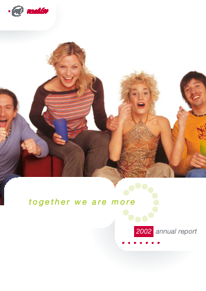 Magyar Telekom Telecommunications annual report 2002