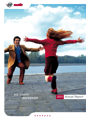 Magyar Telekom Telecommunications annual report 2003