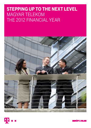 Magyar Telekom Telecommunications annual report 2012
