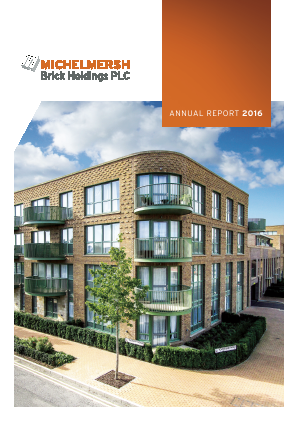 Michelmersh Brick Holdings annual report 2016