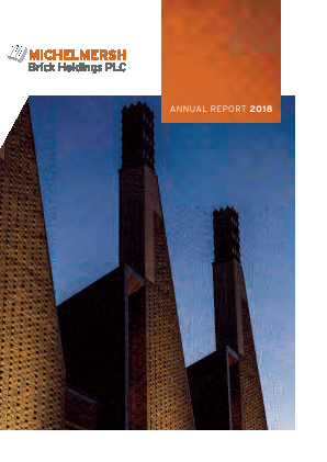 Michelmersh Brick Holdings annual report 2018