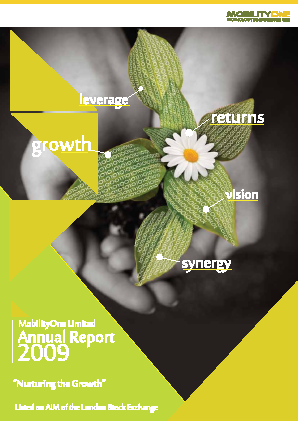 Mobilityone annual report 2009