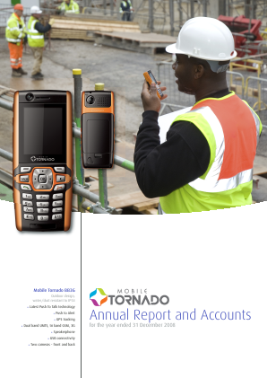 Mobile Tornado Group annual report 2008
