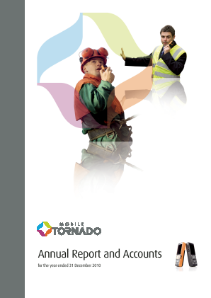 Mobile Tornado Group annual report 2010
